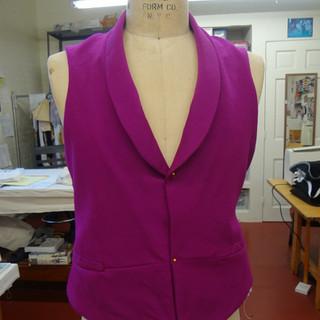 Menswear Vest, Berry College