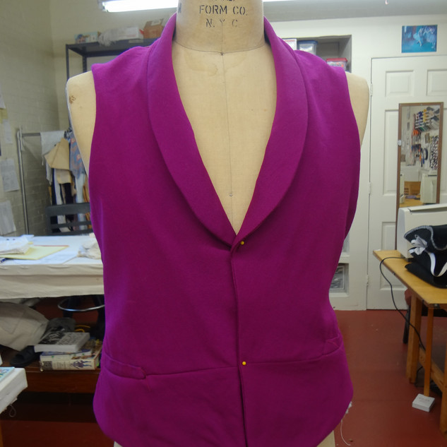 Menswear Vest, Berry College