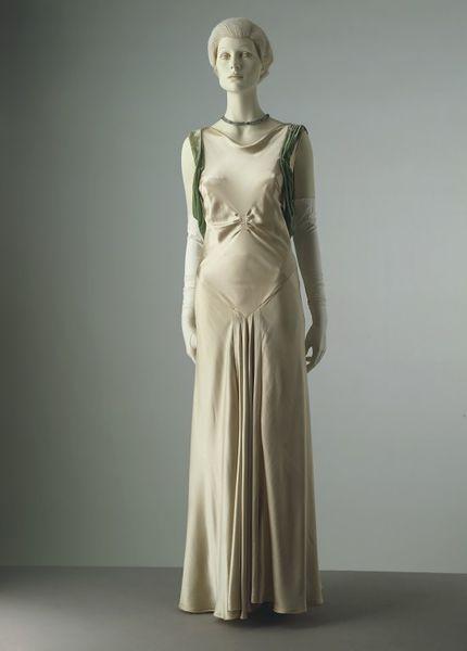 1930s Evening dress Inspiration