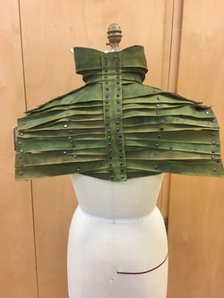 Leather Epaulet Armor