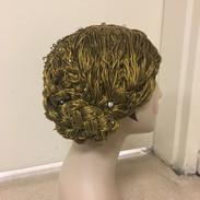 Bullion Wig Hat, UNC Chapel Hill