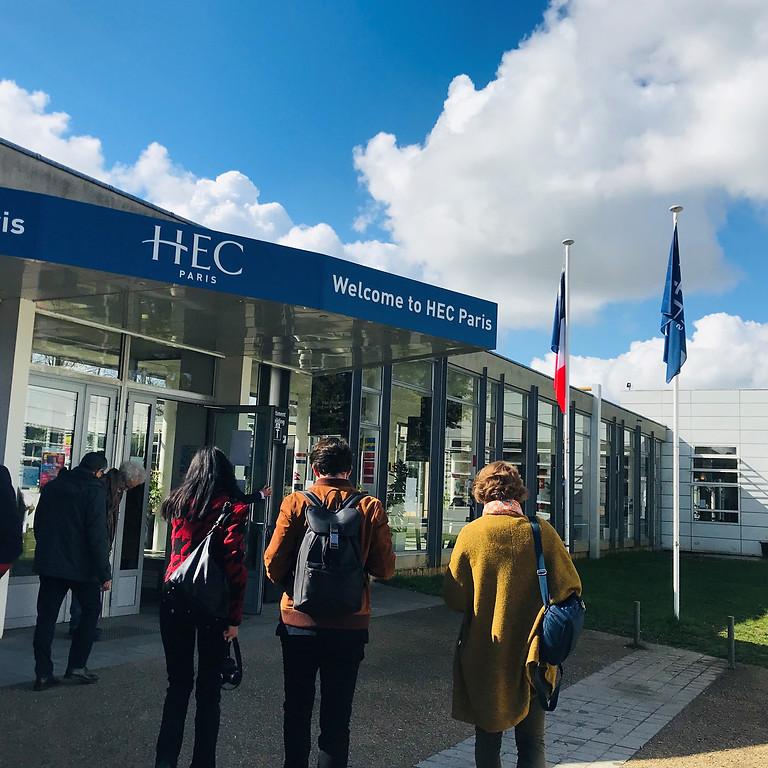 Rentrée des élèves à HEC Paris