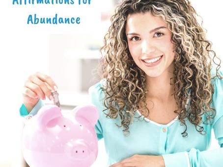 Addicted to Tarot - Affirmations for Abundance