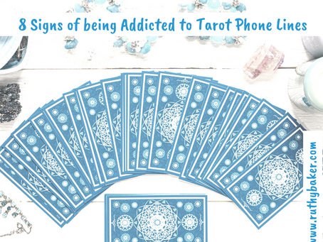 8 Signs of being Addicted to Tarot Phone Lines