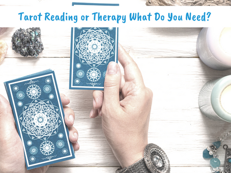 Tarot Reading or Therapy?