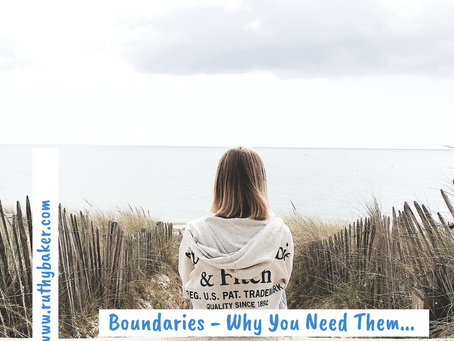 Boundaries – Why You Need Them