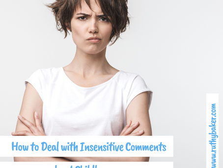 How to Deal with Insensitive Comments about Childlessness