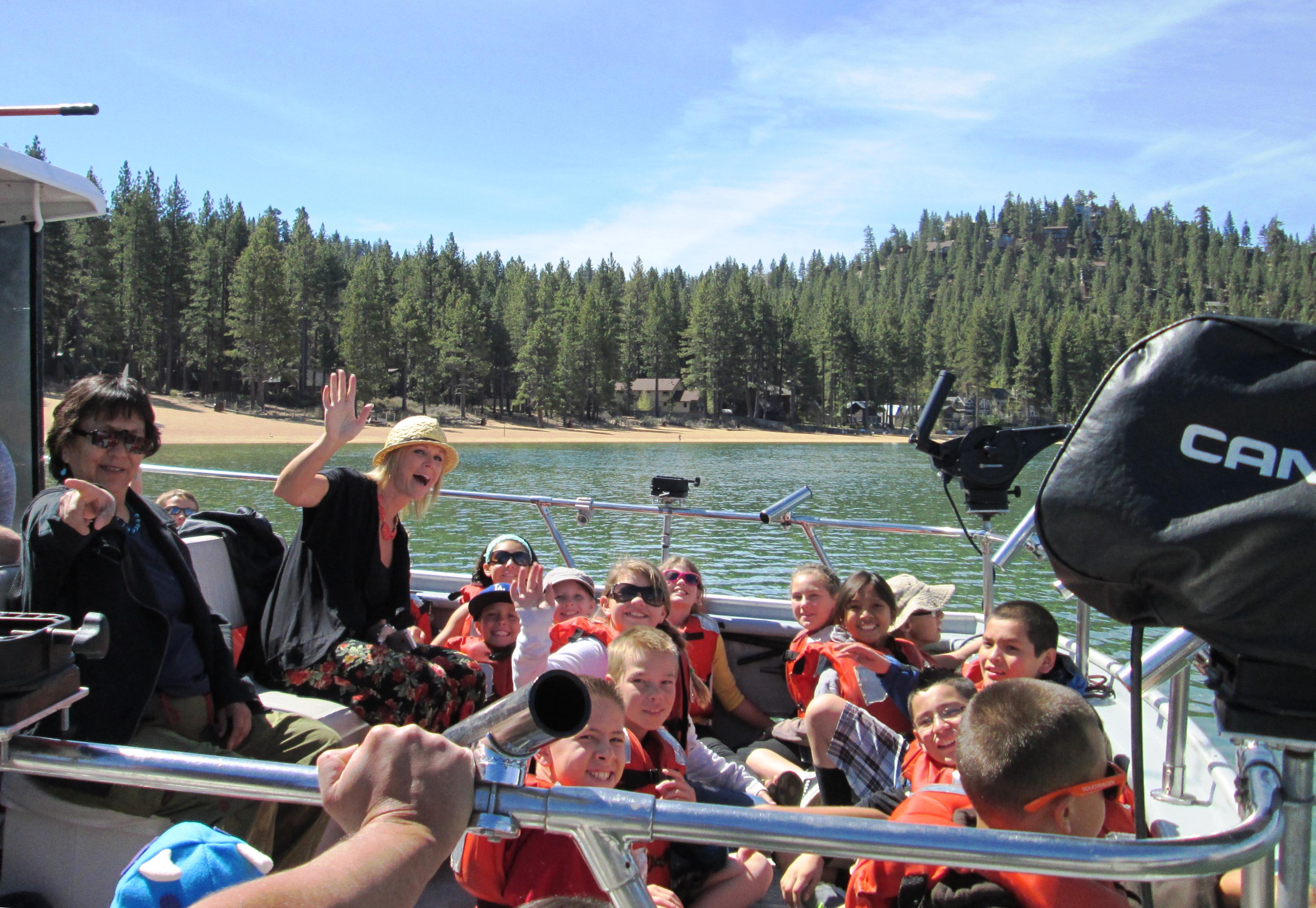 Research Boat of Lake Tahoe!