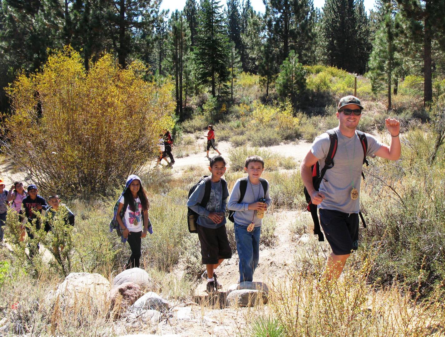 Hiking Spooner Summit