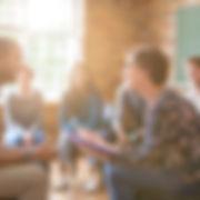 Discussão em grupo Contoterapia