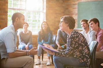 Professora ensinando