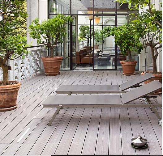 Piso Deck, ideal para terrazas,