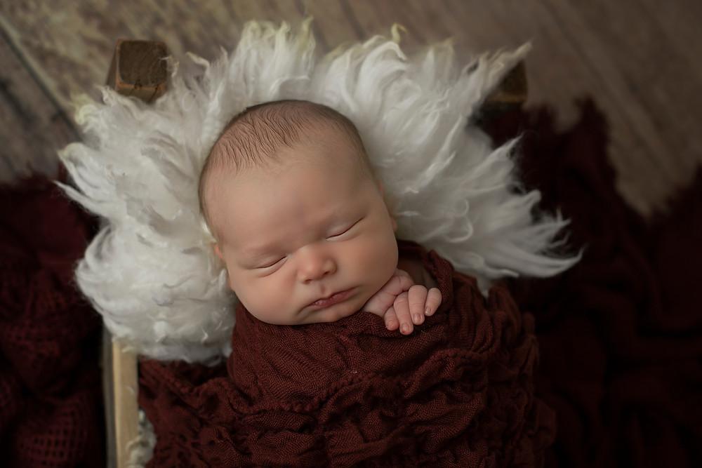 Newborn photography in Plano