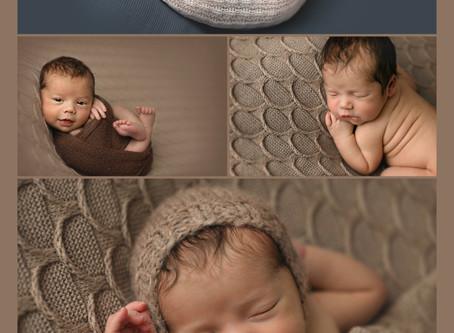 Frisco Studio Newborn Session - Rowan