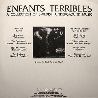 LP Enfants Terribles 1992
