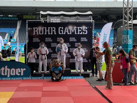 Mia Nunweiler gewinnt die Ruhr Games 2021 in Bochum