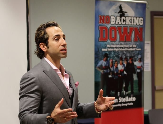 No Backing Down Book Release