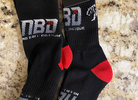 No Backing Down (NBD) socks !