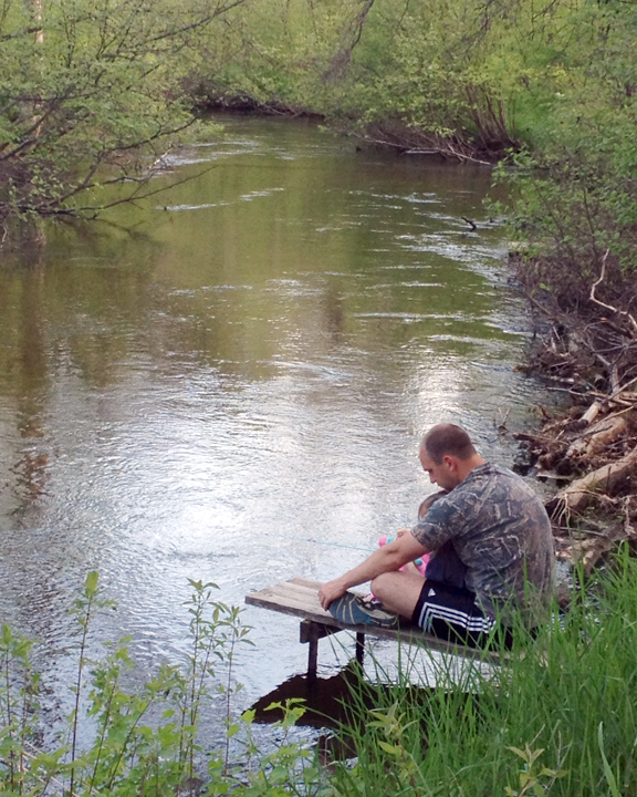 Sophia's first Fishing