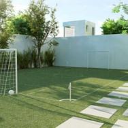 Minicampo gramado
