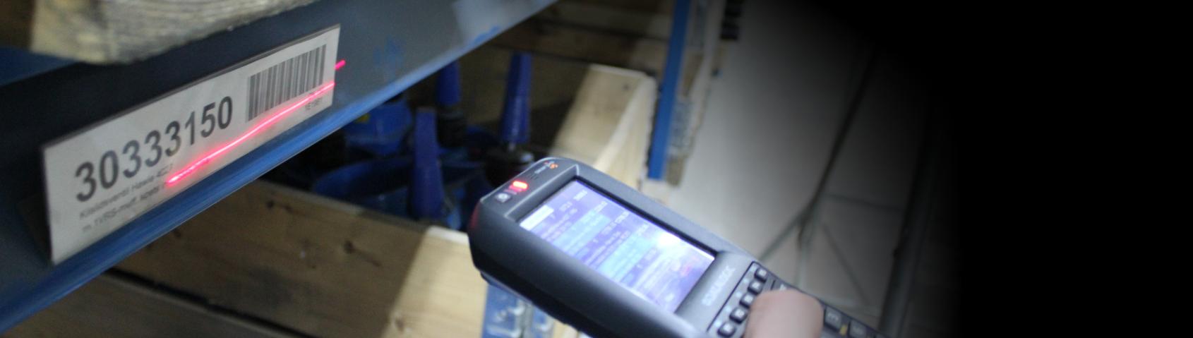 Warehouse barcode scan 3