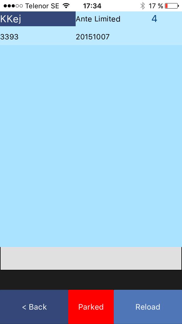 App för orderplock