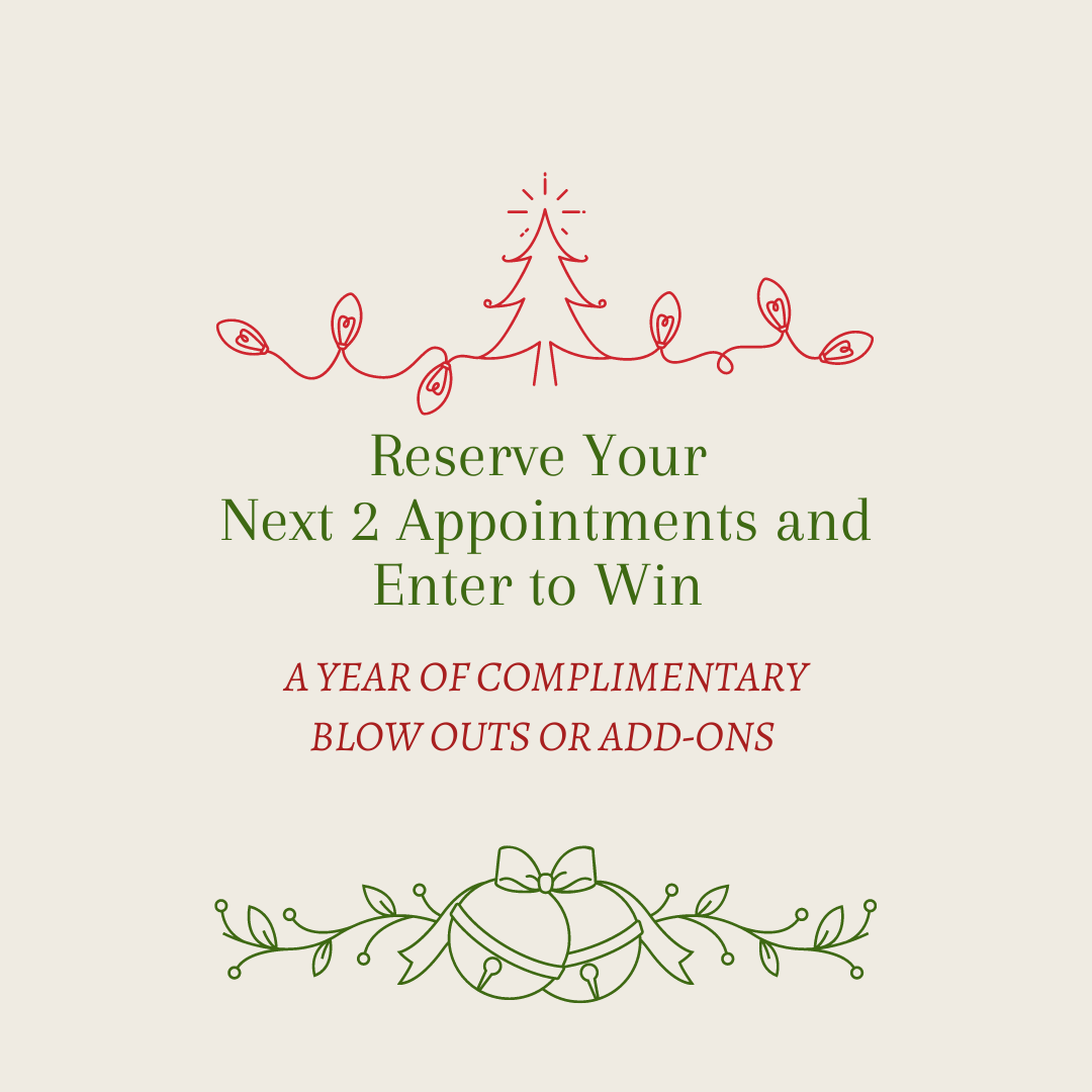 Reserve your next 3 Appointments