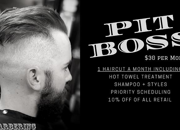 Pit Boss Barber Membership