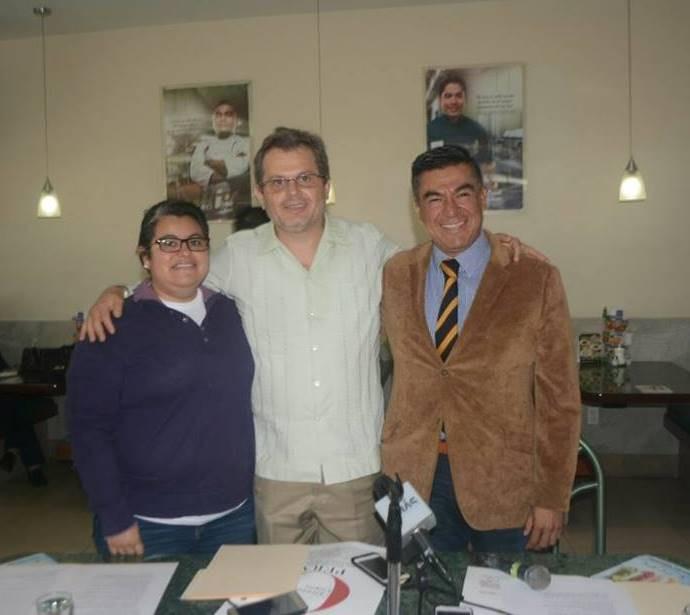 Carmen Betania, Lafrancop Marcelleti y Rodolfo Mendoza