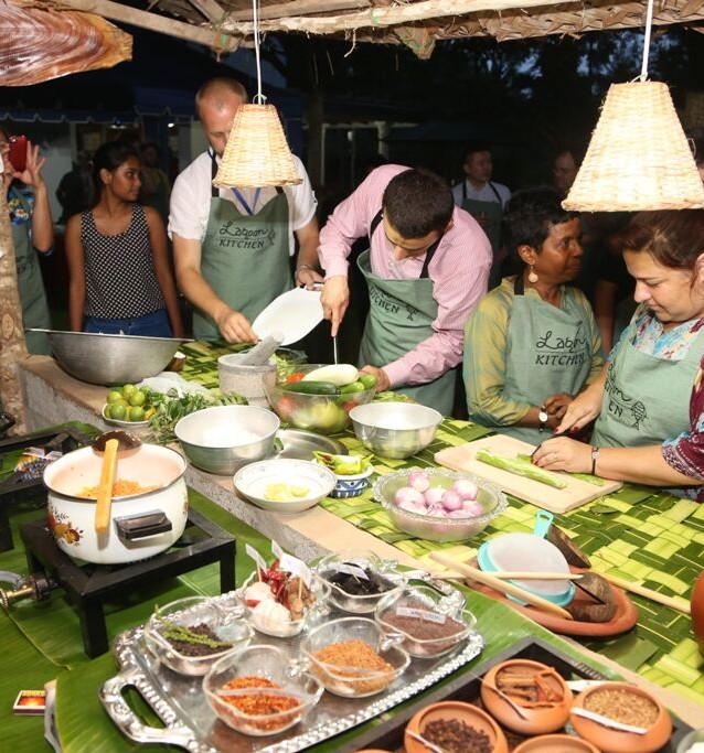 Cooking experience at Villa Sarakkuwa