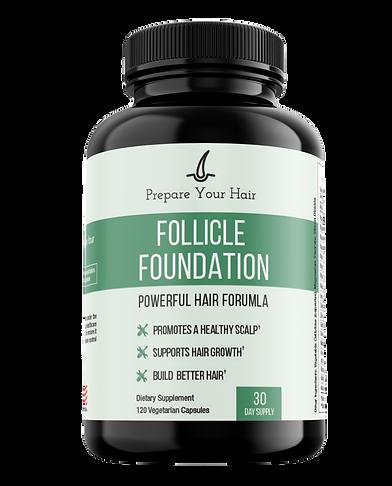 follicle foundation pill bottle