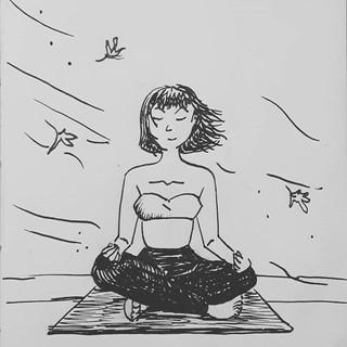 Swift winds will not disturb my inner peace.