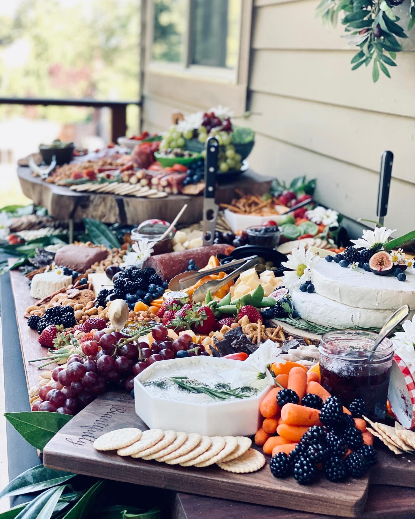 The Platter Girl Grazing Table