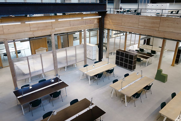 H7 aménagement intérieur mickael fabris  design espace Lyon 3