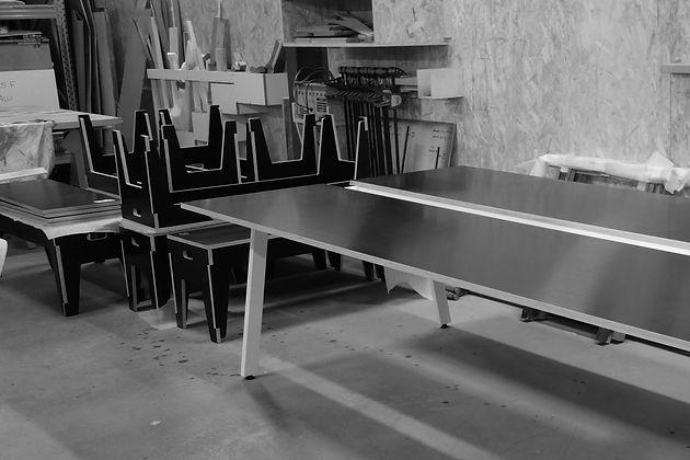 H7 aménagement intérieur mickael fabris  design espace Lyon 11