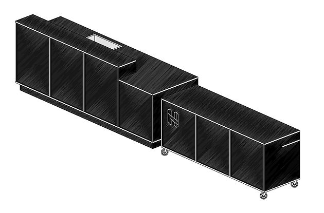 H7 aménagement intérieur mickael fabris  design espace Lyon 17