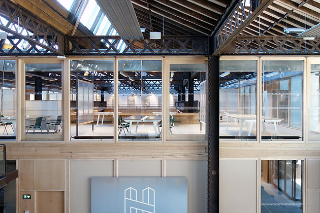 H7 aménagement intérieur mickael fabris  design espace Lyon 1