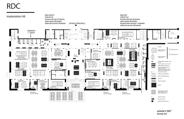 H7 aménagement intérieur mickael fabris  design espace Lyon 18