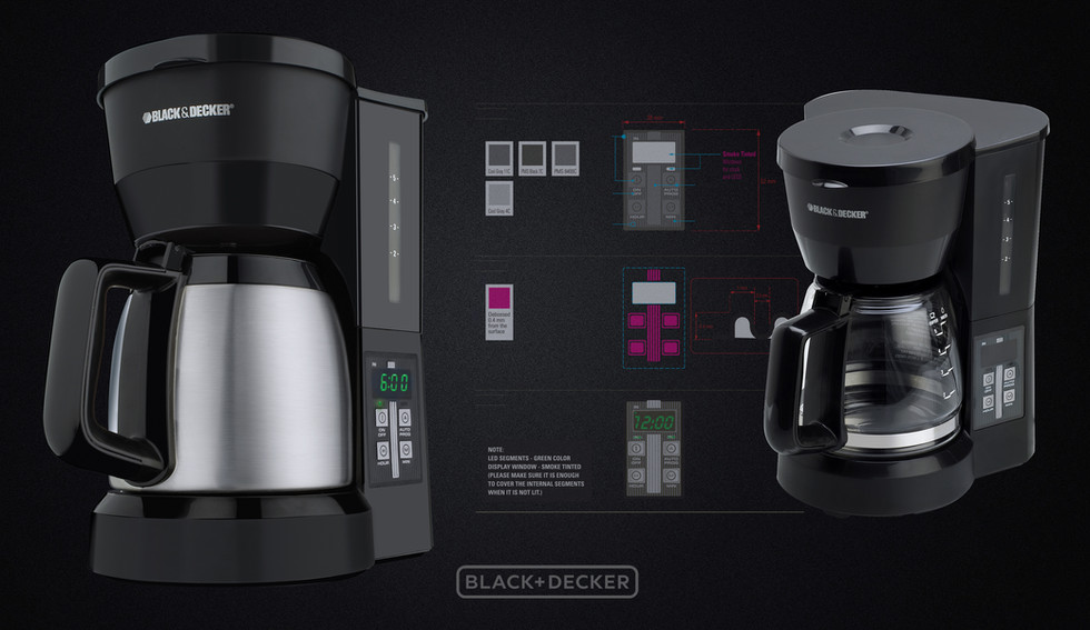 DCM600 one of B&D best selling coffee makers