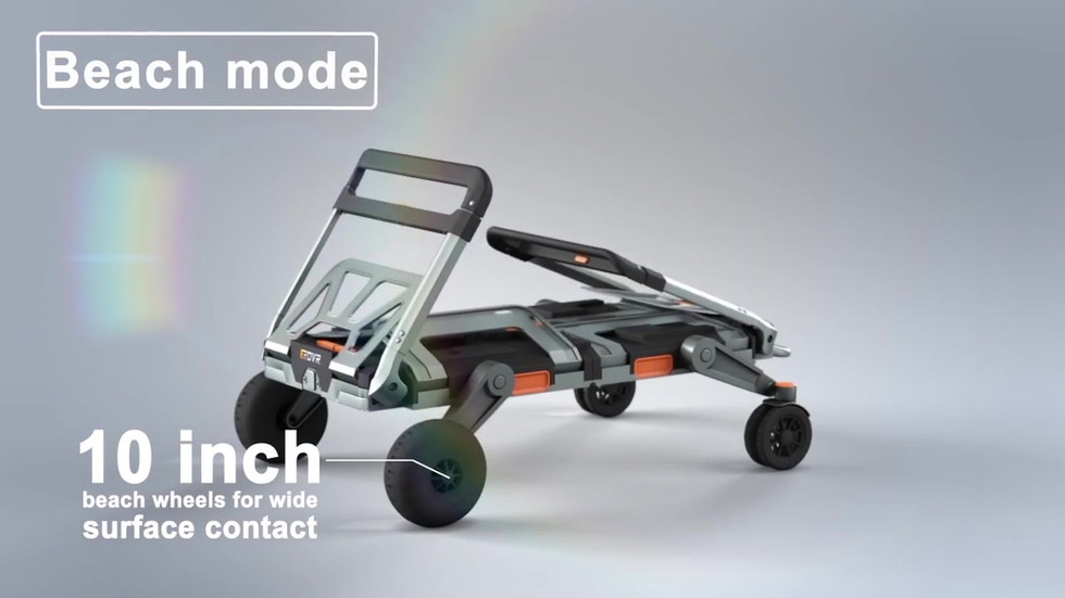 Erovr transformable  dolly cart