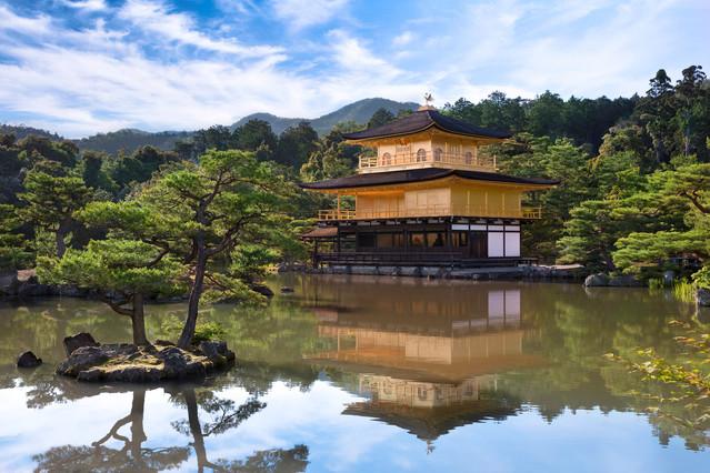 kinkaku-ji the golden Pavilion (temple)