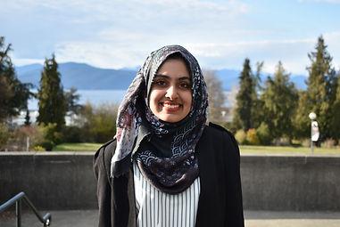 FGSU President Zahra Fazal