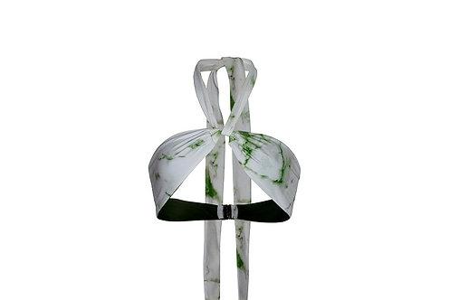 Halter Wrap Top - Matcha Marble