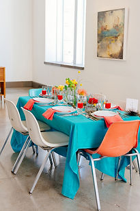Modern-aqua-and-orange-wedding-ideas-9.j