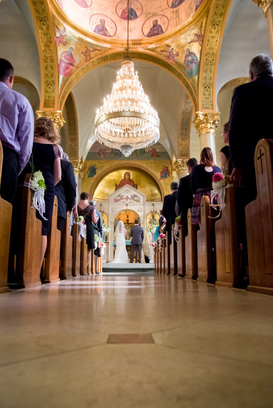 Greek Orthodox Toledo Wedding