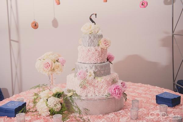 Jane's cakes Toled, Rosette Linen, Donut Installtion, Holey Toledough