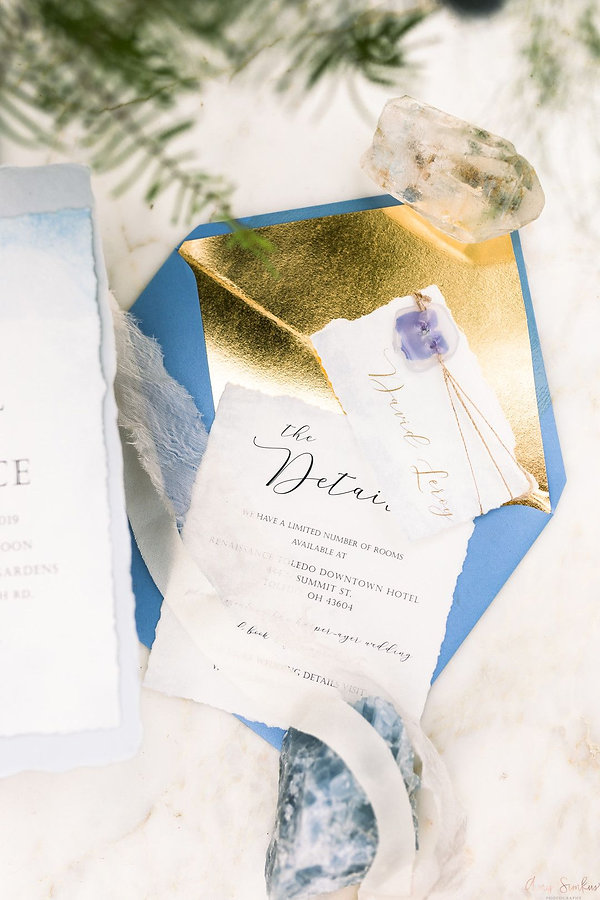 Whimsical Blue Garden Wedding in Northwe