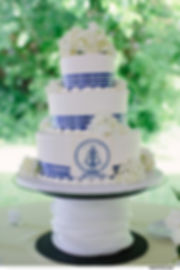 nautical weddng cake