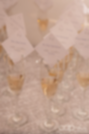 Escort Card, Champagne Escort Cards, Champagne All Day