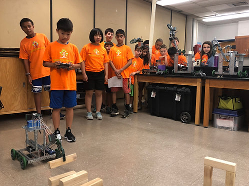 Week 5: Robotics: Disaster Relief - July 19th to July 23rd